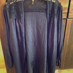 Massini navy blue sweater-L